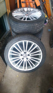 225/40r18 volkswagen rims and tires