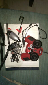 RC helicopter parts