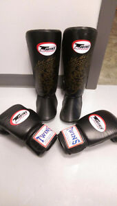TWINS SPECIAL MMA/KICKBOXING GLOVES & SHINGUARDS
