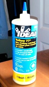 Ideal Yellow 77 wire pulling lubricant
