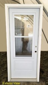 """Insulated Entry Door (32"""" x 80"""") System w/ 22 x 48 Venting D/L"""