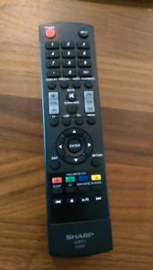 Sharp TV remote LCDTV GJ221