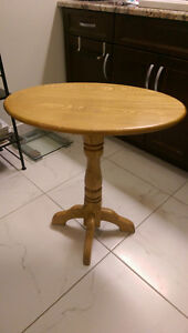 Solid Ash End Table