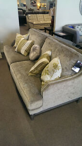 1 Chanel couch and 1 loveseat for sale