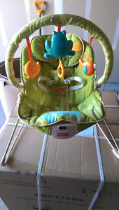 Fisher Price baby rocking chair with music & vibrating seat