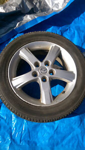 5x114.3 Mazda Rims and Tires Set of 4