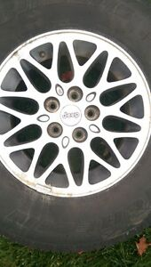 Jeep Cherokee Limited rims with. Michelin SUV cross terrain tire