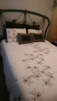 Queen mattress boxspring and headboard can deliver