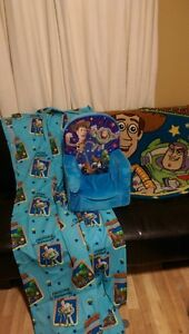 Toy Story chair, rug, comforter, curtains London Ontario image 2
