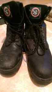 Steel toe boots size 8.5