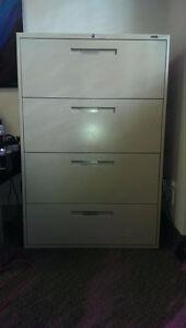 4 Drawer Lateral Filing Cabinets (2) Kitchener / Waterloo Kitchener Area image 1