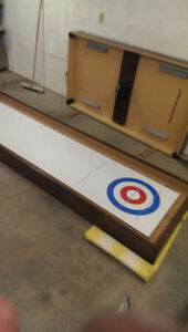 Shuffleboard with everything