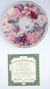 Ltd Edition 'Circle of Love' Lena Liu 1st Issue Collectors Plate