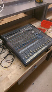 Yorkville AP812 Mixer and Speakers