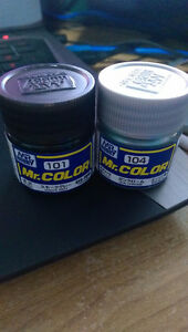 Gundam Mr.Color paint (NEVER USED)