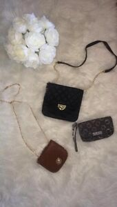 Small dresses, michael kors pants, coach wristlet, purses