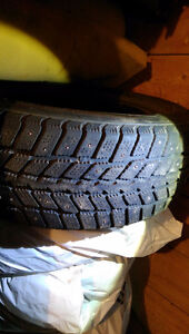 Used winter tires 225/60R16 - Off of a 2004 Cadillac Deville