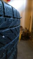 Winter tires for sale, P225/75R16