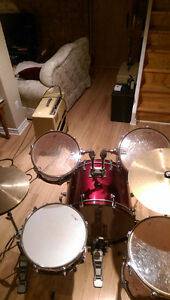 Drums (lightly used) Peterborough (Hamilton Township) $350 obo