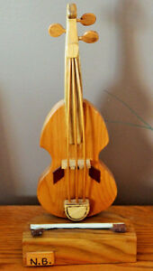 HANDMADE IN NB  FIDDLE AND BOW