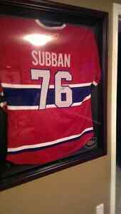 Signed autographed P K Subban Jersey