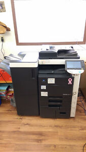 Konica Minolta Bizhub C451 Copier for Parts / Finisher Strathcona County Edmonton Area image 1