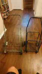 Paper/grocery cart