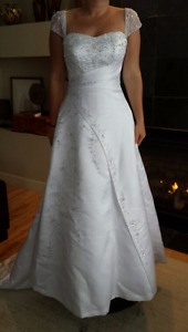 sz 8 wedding dress gown Maggie Sottero