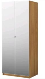 Wardrobe Ikea Pax with mirrored doors
