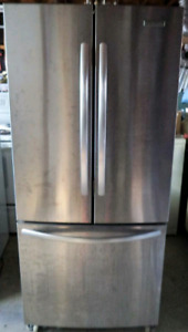 KITCHEN AID STAINLESS STEEL FRIDGE FOR SALE!