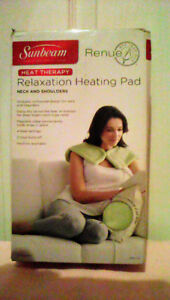 SUNBEAM Relaxation Heating Pad -Renue