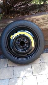 Space saver Kumho tyre T125/70R16