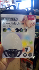 Relaxation Sound Machine With Light