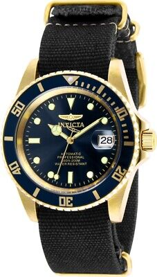 Invicta 27625 Pro Diver Men's 42mm Automatic Gold-Tone Steel Blue Dial Watch