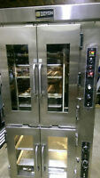 DOYON JAOP-8 ELECTRIC 8/PAN CONVECTION OVEN WITH PROOFER