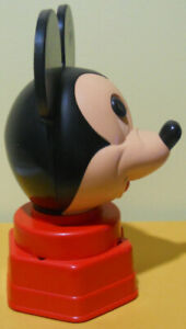 Vintage Disney Mickey Mouse Gumball Machine