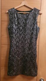 Sparkly black dress size 14