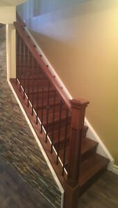 Interior Stair and Railing Renovations