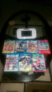 Wii U with Games - BEST OFFER