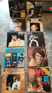 ELVIS PRESLEY LPS INCLUDES SOME RARE, IMPORTS RECORDS MAKE OFFER