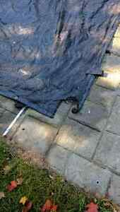 Pool Cover Tarp 25x44' London Ontario image 2