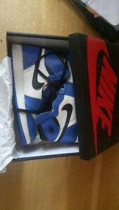 brand new  AJ1 Game Royal size 10.5 and 11