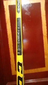 Fillip Forsberg prostock ccm stick ribcore painted a tacks