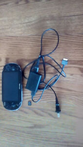 165 O.B.O BLACK PS VITA 16 GB COMES WITH CHARGER GREAT CONDITION