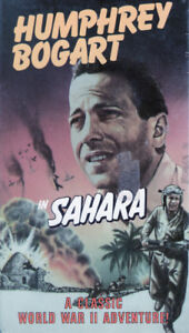 Humphrey Bogart Classic Film Sahara Brand New and Sealed VHS