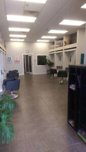 Salon space for Rent/Lease, immediately - utilities included