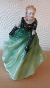 Royal Doulton Vanessa China Figurine 1988 HN3198 England Doll
