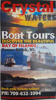 CRYSTAL WATERS BOAT TOURS & CHARTERS