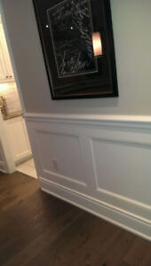 Crown Moulding /Wainscoting /Waffle Ceiling