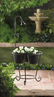 PLANT TRIO WITH WATER FAUCET